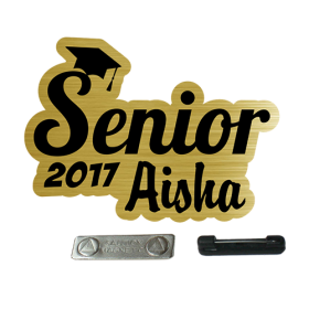 custom senior graduation badges in Kuwait