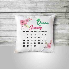 Custom Pillow printed Photo for gift calander