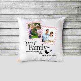 Custom Pillow printed Picture for gift