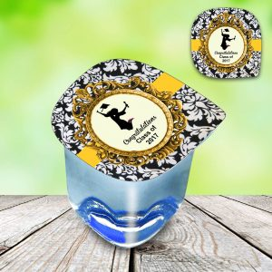 customized water cups labels birthday