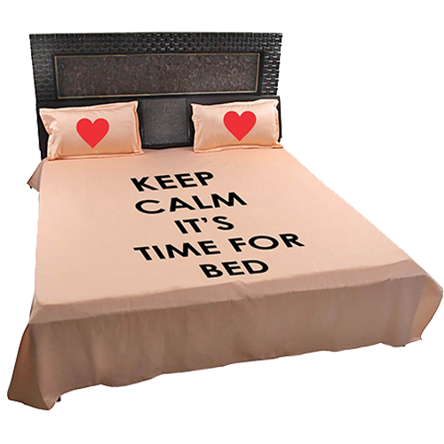 Create your Own Bed Sheet Pillow with Photo