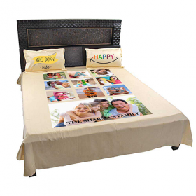 Create your Own Bed Sheet Pillow with Picture for kids