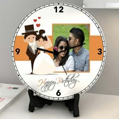 Customised Wall Clock Gift