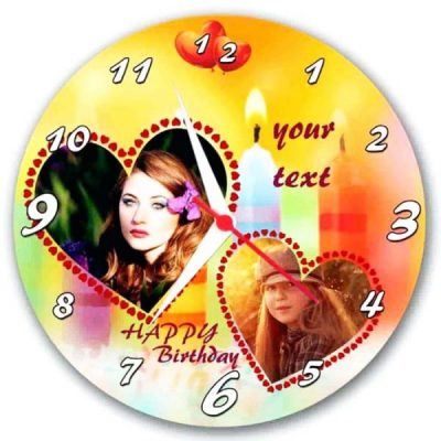Customized Wall Clock for gift